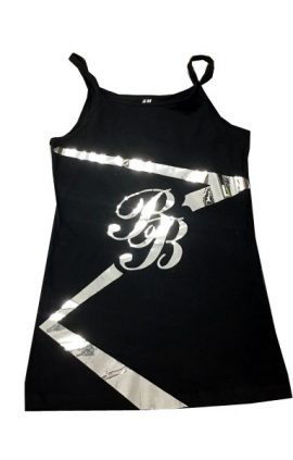 cheer-tanktop cheer-kurzehose cheer-rock Cheerleader Rock Outfit Erkner Razorbacks Black Babes